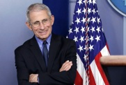 Dr. Anthony Fauci at a White house press briefing on Carnivorous